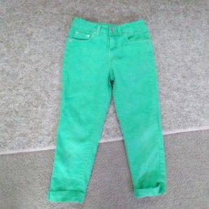 Justice jeans capris